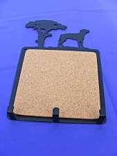Cork Memo Board inc 3 Hooks