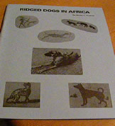 Ridged Dogs Of Africa
