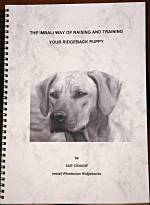 The Imbali Way of Raising and Training Your Ridgeback Puppy by Sue Craigie